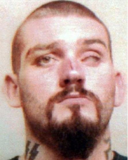 Daniel Lee in a police mugshot.