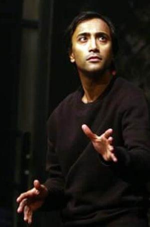 Rhik Samadder in Mastering Macbeth at Salisbury Playhouse in 2010