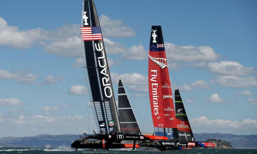 Emirates Team New Zealand will be able to defend the America's Cup next year, with relaxed visa rules allowing US and British crews into the country