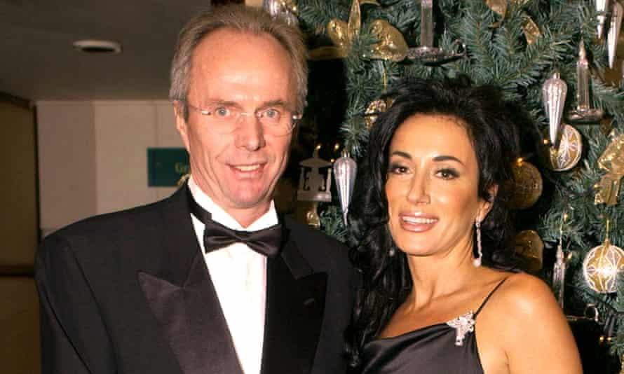 Sven Göran Eriksson and Nancy Dell'Olio.