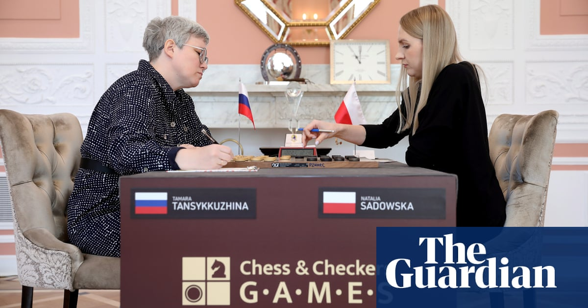 Draughts match nearly triggers diplomatic incident between Poland and Russia