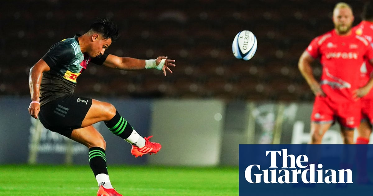 Marcus Smith puts gloss on rugbys ragged return as Harlequins beat Sale