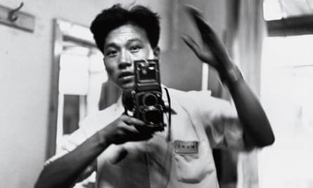 Li Zhensheng in his office 17 July 1967.
