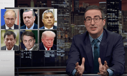 'The real worry here isn't just that Trump sounds like an authoritarian, it's that many people in this country like the way that sounds' ... John Oliver