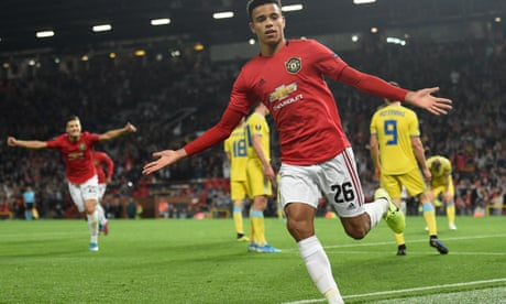 Mason Greenwood's first Manchester United goal earns narrow win over Astana
