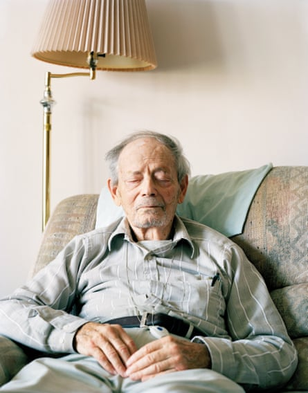 Robert C. W. Ettinger, 'the father of cryonics', at his home in Clinton Township, Michigan. April 2010. From The Prospect of Immortality by Murray Ballard, published by GOST, April 2016.