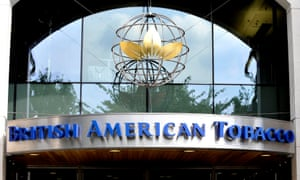 The London offices of British American Tobacco