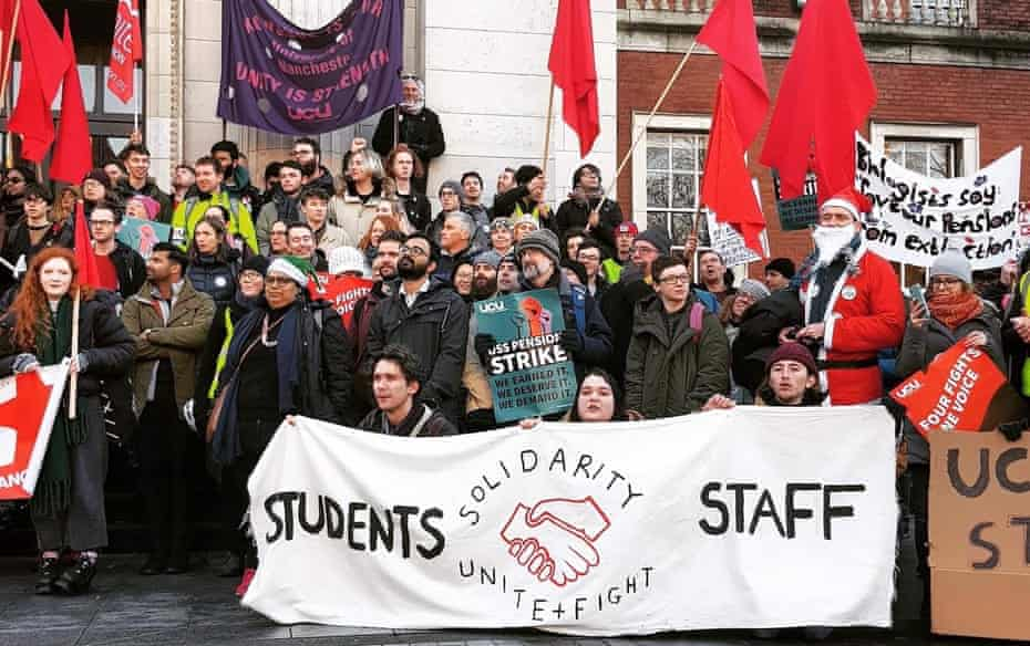 Manchester students support group