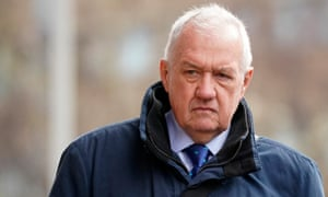 David Duckenfield outside court