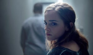 Emma Watson in The Circle. 'The Circle is a cartoon. It's not real. Facebook is real, and it's scary.'