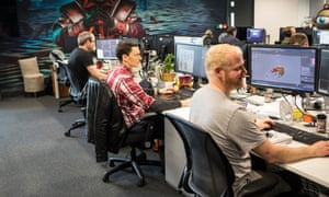 Game developer Jagex in Cambridge