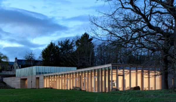 'Undoubtedly beautiful': the Weston building in Yorkshire Sculpture Park