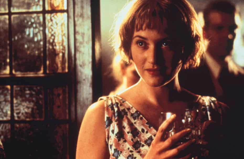 A role she could do in her sleep ... Winslet as the young Iris Murdoch in Iris.