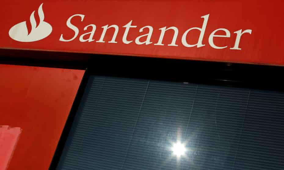 A logo of Santander
