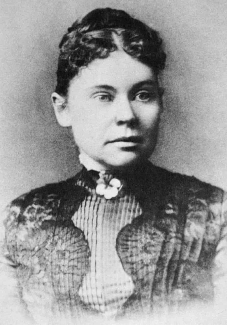 Lizzie Borden (1860-1927). /