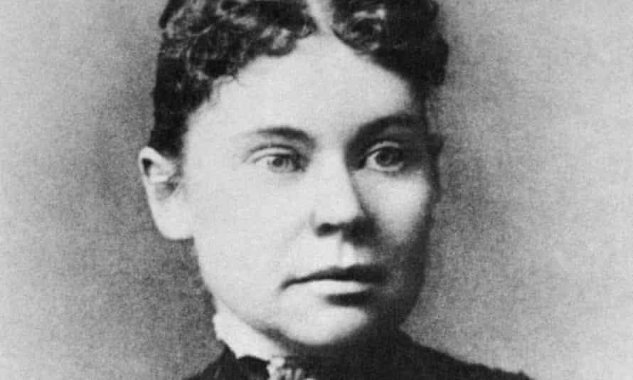 Lizzie Borden, photographed in 1890.