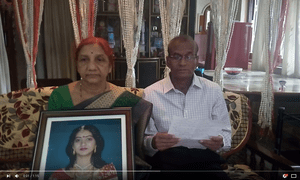 Savita Halappanavar's parents in their video appeal to Ireland.