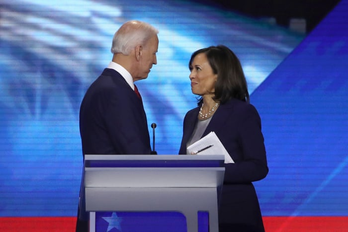 Joe Biden Picks Kamala Harris As His Running Mate In Historic First For A Woman Of Color Us News The Guardian