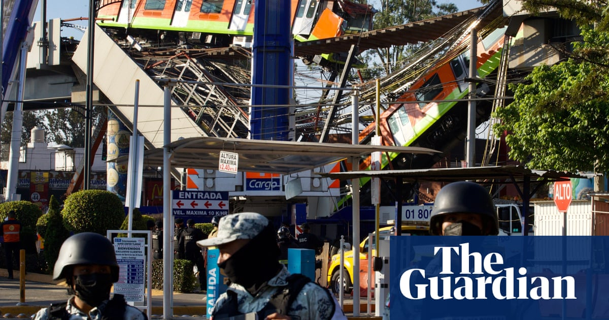 Anger mounts as death toll from Mexico metro overpass collapse rises to 24