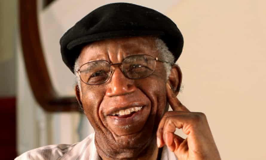 The late author Chinua Achebe at his home in Warwick