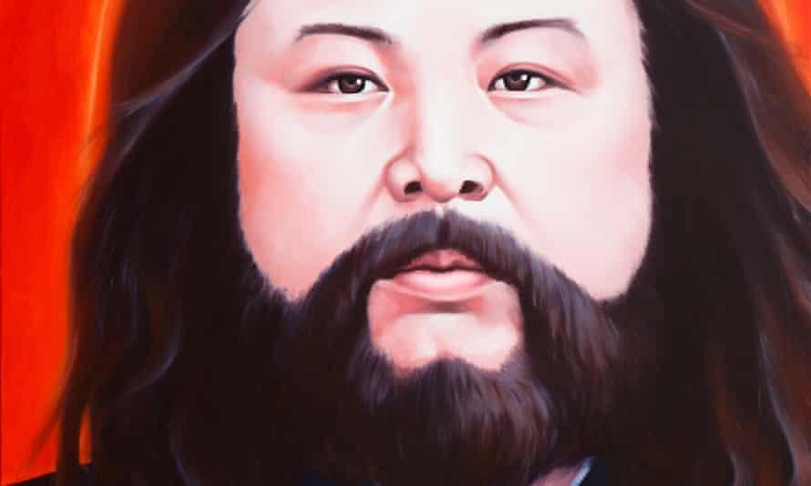 Jesus of Chosun oil on canvas 2009. 91x116cm