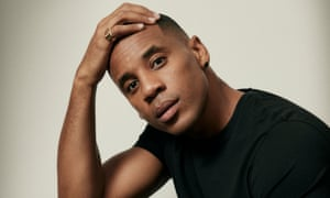 'I've learned that context is irrelevant when you hurt somebody': Reggie Yates wears black T-shirt by asket.com.