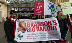 Campaigners protest in King's Cross station