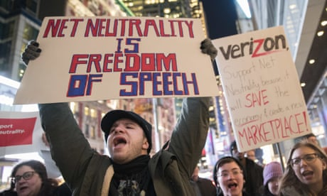 US justice department sues California over new net neutrality law
