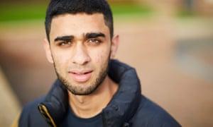 Aadam Patel, from Dewsbury: 'I have pressed pause on my life.'