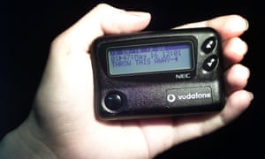 Vodafone announced it was going to close its pager business in May this year, leaving only one supplier covering the UK.