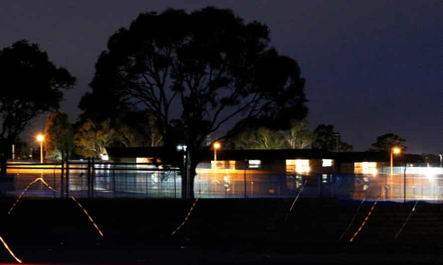 Villawood immigration detention centre in west Sydney May 25, 2011