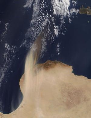Dust Libya