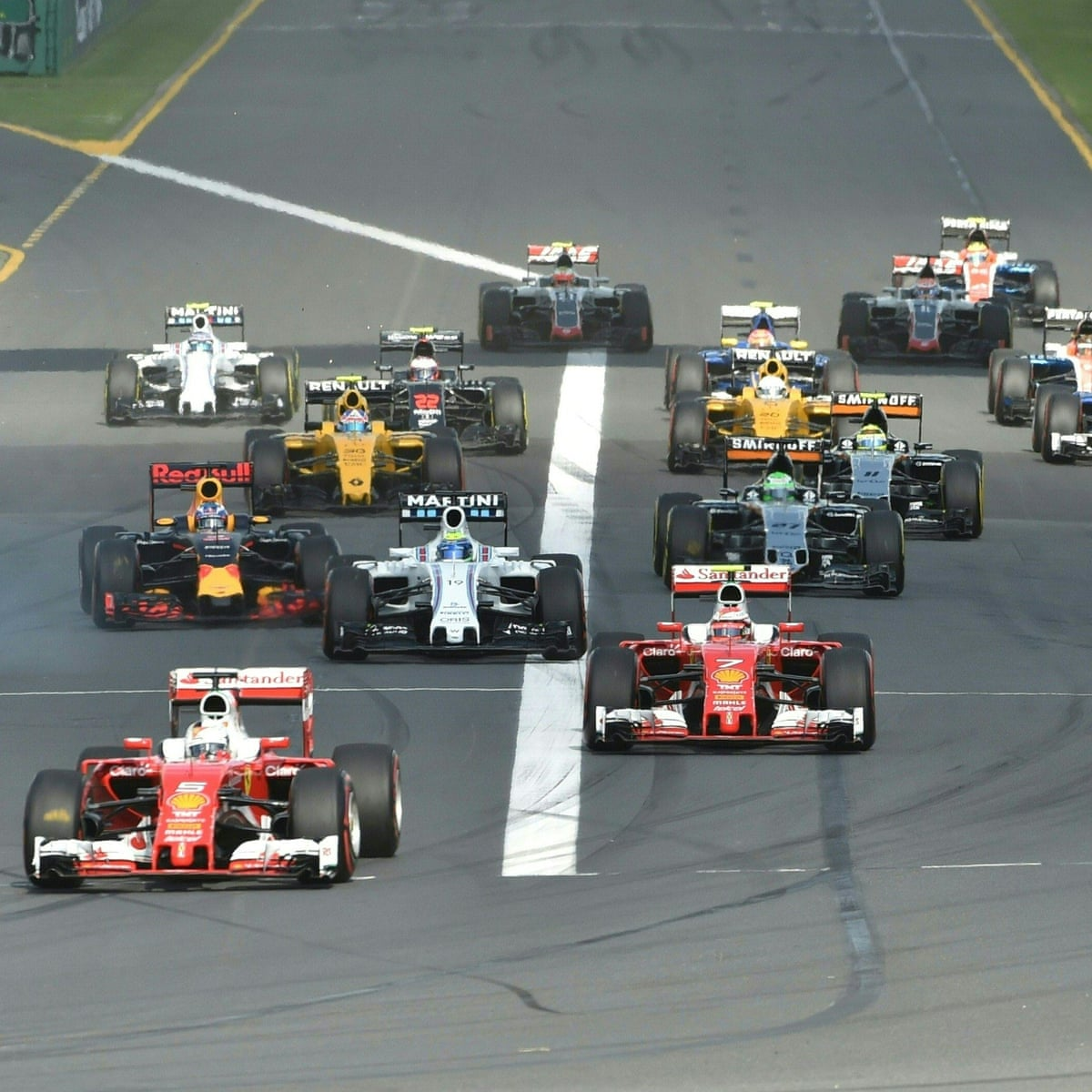 Sky Buys Exclusive Rights To All Formula One Sport The Guardian