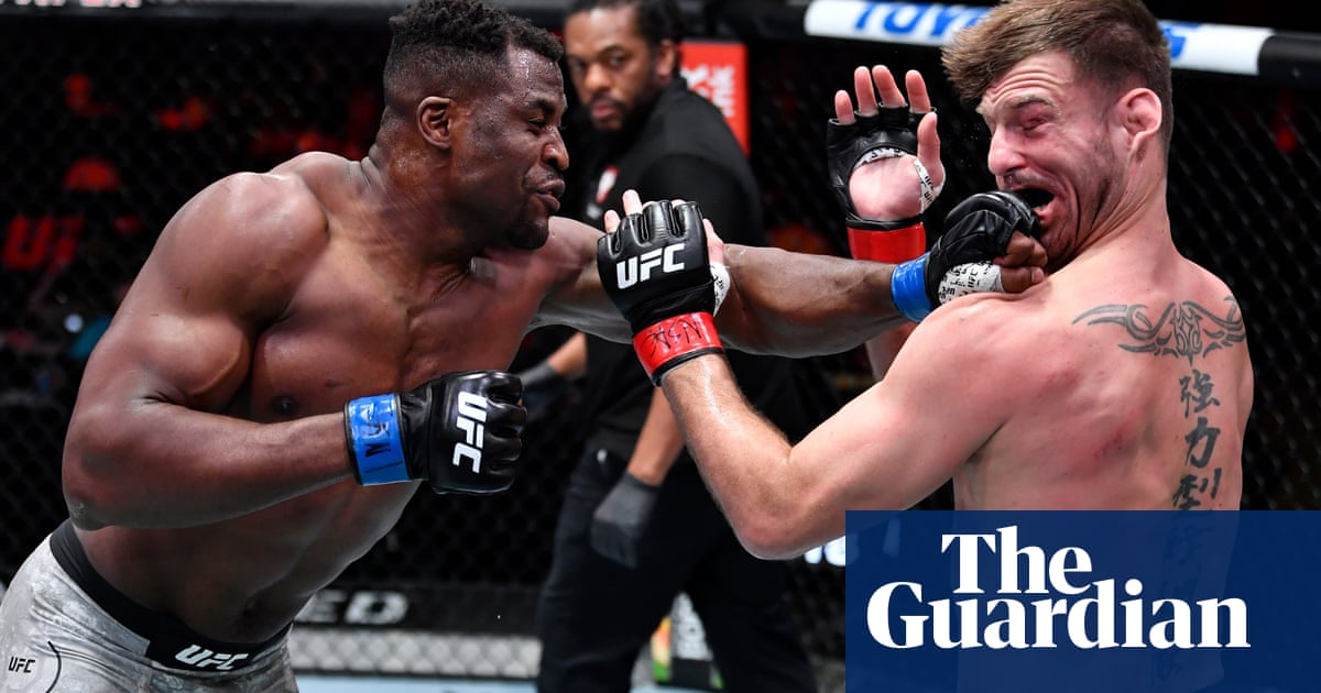 UFC 260: Francis Ngannou overwhelms Stipe Miocic to claim heavyweight title