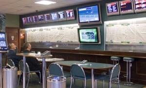 A high-street betting shops
