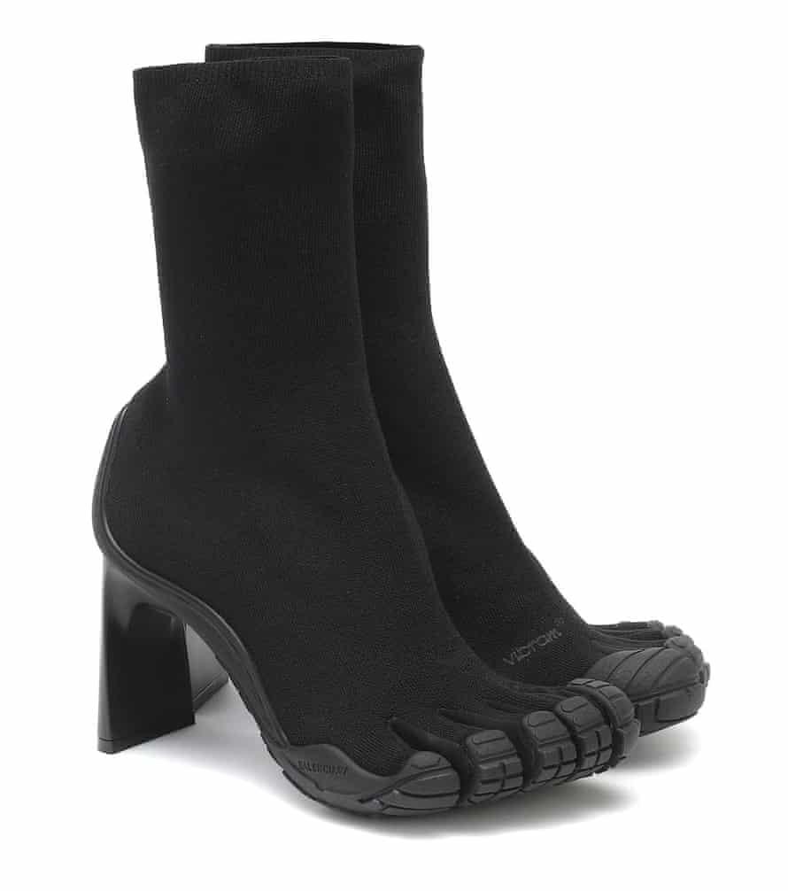 Balenciaga's 'five-finger' X Vibram boots.