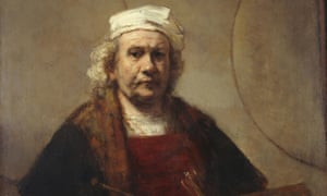 'I've been looking at this painting for 40 years' … Self-Portrait with Two Circles, circa 1665, by Rembrandt van Rijn.
