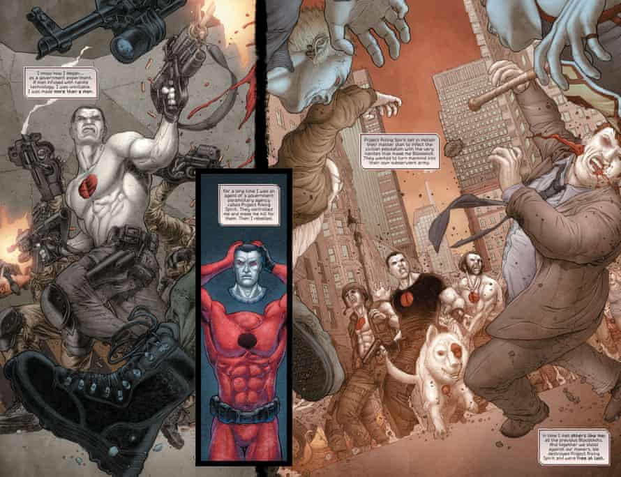 Bloodshot Salvation, written by Jeff Lemire with art by Juan Jose Ryp and Andrew Dalhouse