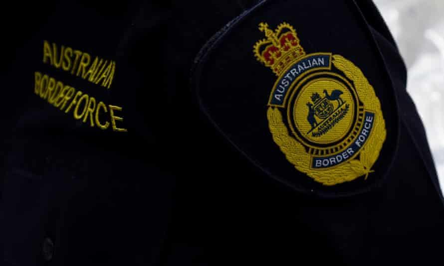 Australian Border Force officer