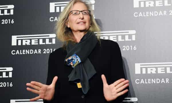 Annie Leibovitz attends the Pirelli calendar launch in London.