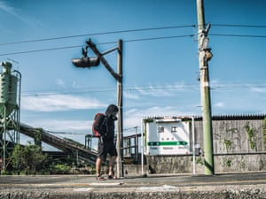 """Keow said: """"This was one of the creepiest things I have ever seen, I have been to many places, but nothing like Fukushima, the traffic lights are still operating but there are no cars around. It all reminded me of the movie I Am Legend, like stepping foot into a post-apocalyptic city."""""""