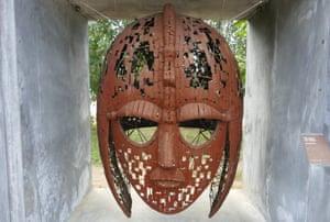 Sculpture at Sutton Hoo, Suffolk