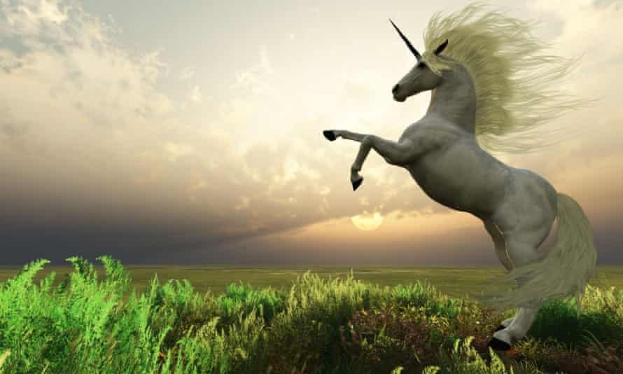 Depiction of a unicorn