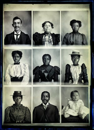 Photographs of Hugh Mangum, 1897–1922From Where We Find Ourselves, edited by Margaret Sartor The self-taught photographer Hugh Mangum was born in 1877 in North Carolina. He welcomed into his temporary studios a racially and economically diverse clientele. After his death in 1922, his glass plate negatives remained in his darkroom, a tobacco barn, for 50 years. On the point of being demolished in the 1970s, the barn was saved at the last moment – and with it, this unparalleled document of life at the turn of the 20th century, a turbulent time in the US south.