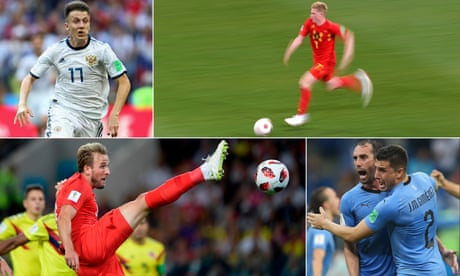 Previews and predictions for the World Cup quarter-finals