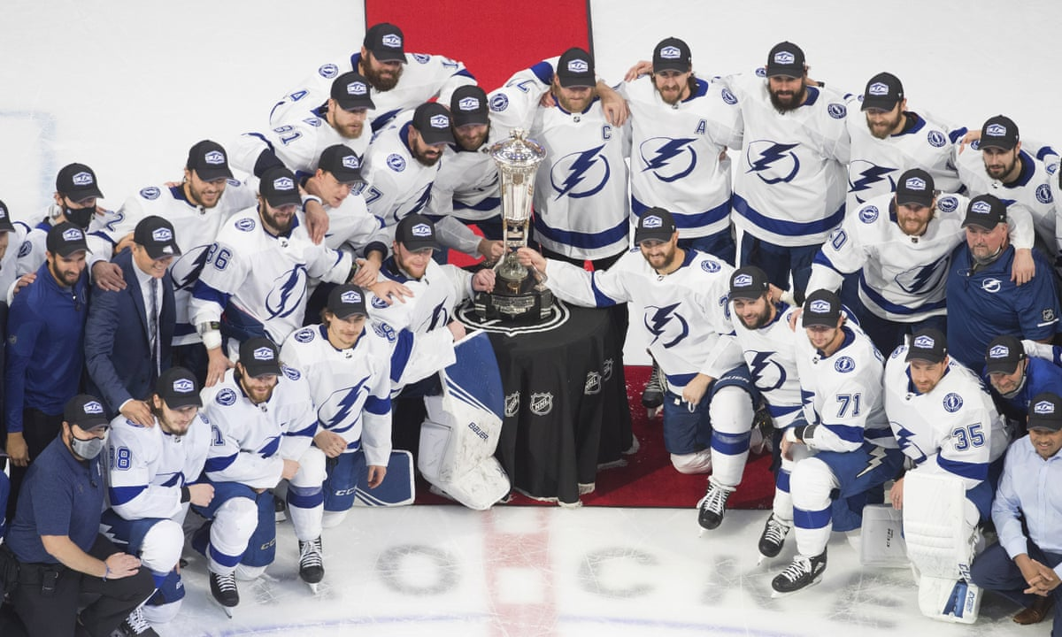 Anthony Cirelli S Winner Lifts Tampa Bay Lightning Into Stanley Cup Final Nhl The Guardian