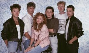 'Bryan Adams bought us champagne' … T'Pau in 1988.