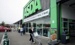 An Asda supermarket in Leeds, Britain.