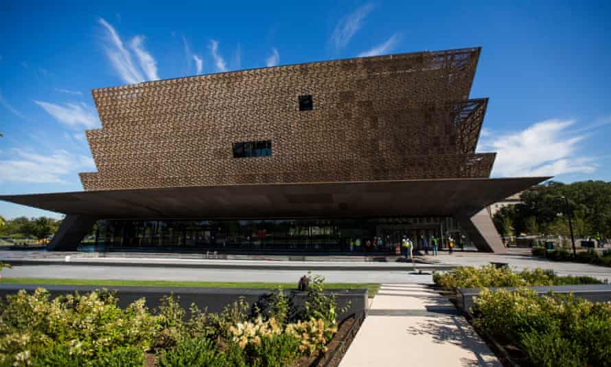 The National Museum of African American History and Culture in Washington DC.