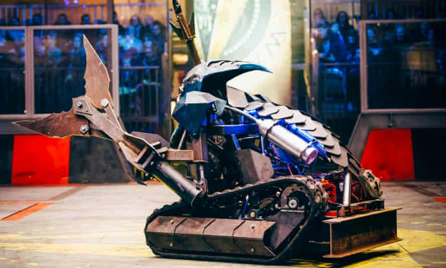 Sir Killalot from the new series of Robot Wars